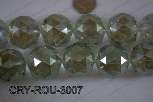 Angelic Crystal Round Faceted 30mm CRY-ROU-3007