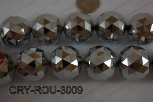 Angelic Crystal Round Faceted 30mm CRY-ROU-3009