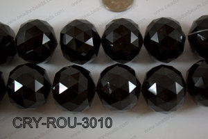 Angelic Crystal Round Faceted 30mm CRY-ROU-3010