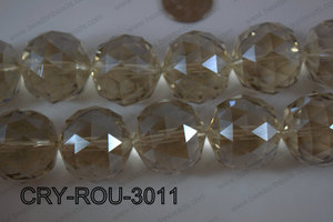 Angelic Crystal Round Faceted 30mm CRY-ROU-3011