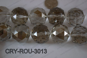 Angelic Crystal Round Faceted 30mm CRY-ROU-3013