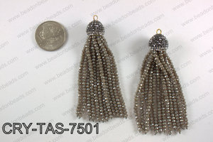 Crystal tassel  CRY-TAS-7501