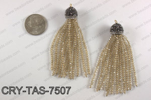 Crystal tassel  CRY-TAS-7507