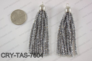 Crystal tassel  CRY-TAS-7604
