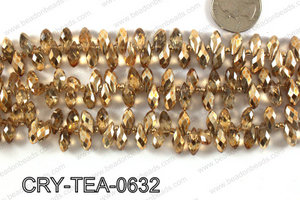 Top drilled teardrop crystals 6x12mm CRY-TEA-0632