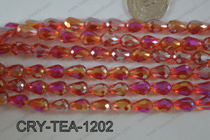 Angelic Crystal Tear Drop 12x8mm CRY-TEA-1202