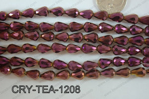 Angelic Crystal Tear Drop 12x8mm CRY-TEA-1208