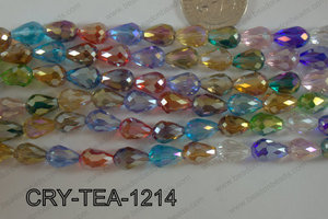 Angelic Crystal Tear Drop 12x8mm CRY-TEA-1214