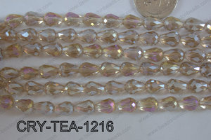 Angelic Crystal Tear Drop 12x8mm CRY-TEA-1216