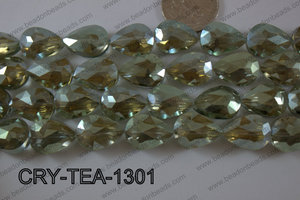 Angelic Crystal Teardrop Flat 13x18mm CRY-TEA-1301