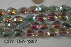 Angelic Crystal Teardrop Flat 13x18mm CRY-TEA-1307
