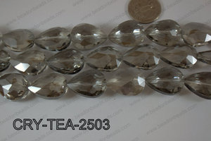 Angelic Crystal Teardrop Faceted 18x25mm CRY-TEA-2503