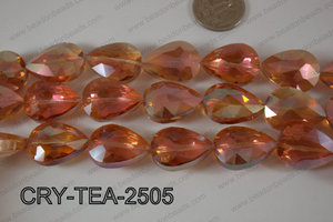 Angelic Crystal Teardrop Faceted 18x25mm CRY-TEA-2505
