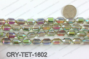 Tetragonal shaped crystal 10x16mmCRY-TET-1602