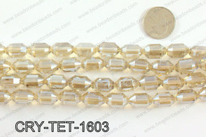 Tetragonal shaped crystal 10x16mmCRY-TET-1603