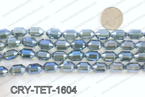 Tetragonal shaped crystal 10x16mmCRY-TET-1604