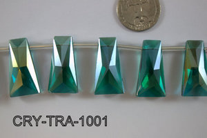 Angelic Crystal Trapezoid 10-16 x 30mm CRY-TRA-1001