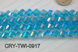 Angelic Crystal Twisted 9mm CRY-TWI-0917