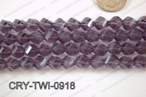 Angelic Crystal Twisted 9mm CRY-TWI-0918