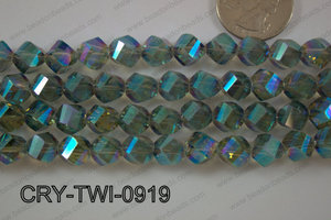 Angelic Crystal Twisted 9mm CRY-TWI-0919