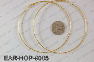 Hoop Earrings 90mm EAR-HOP-9005 Gold