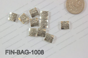 Finding Bead Square 10mm FIN-BAG-1008
