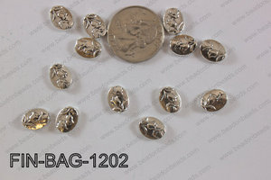 Finding Bead 250g Bag 09x12mm FIN-BAG-1202