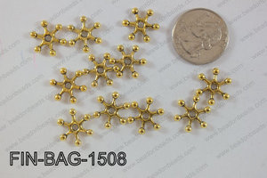 Finding Bead 250g Bag 15x15mm FIN-BAG-1508
