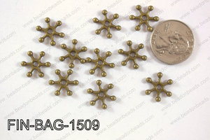 Finding Bead 250g Bag 15x15mm FIN-BAG-1509