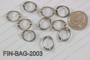 Finding Bead 250g Bag 15x20mm FIN-BAG-2003