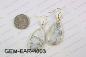 tear drop earring GEM-EAR-4003