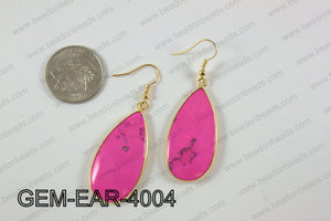 tear drop earring GEM-EAR-4004