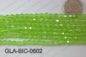 Glass Bicone 6mm GLA-BIC-0602