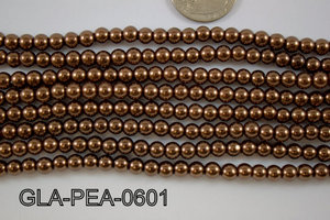 Glass Pearl 6mm GLA-PEA-0601