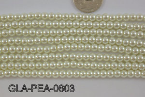 Glass Pearl 6mm GLA-PEA-0603