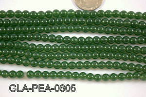 Glass Pearl 6mm GLA-PEA-0605