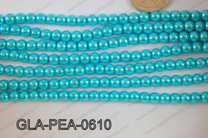 Glass Pearl 6mm GLA-PEA-0610