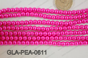 Glass Pearl 6mm GLA-PEA-0611
