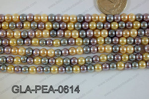 Glass Pearl 6mm GLA-PEA-0614