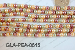 Glass Pearl 6mm GLA-PEA-0615