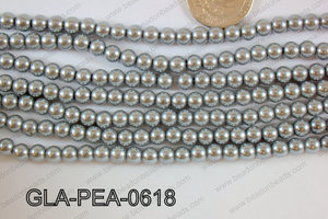 Glass Pearl 6mm GLA-PEA-0618