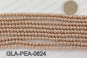GLASS PEARL 6MM GLA-PEA-0624