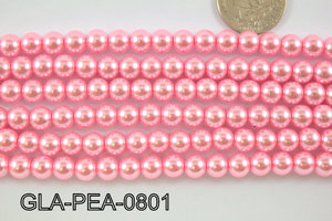 Glass Pearl 8mm GLA-PEA-0801