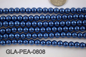 Glass Pearl 8mm GLA-PEA-0808