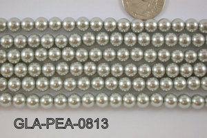 Glass Pearl 8mm GLA-PEA-0813