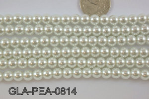 Glass Pearl 8mm GLA-PEA-0814