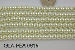 Glass Pearl 8mm GLA-PEA-0815