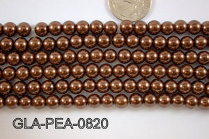 Glass Pearl 8mm GLA-PEA-0820