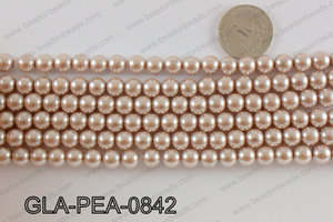 GLASS PEARL 8MM GLA-PEA-0842