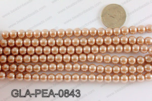 GLASS PEARL 8MM GLA-PEA-0843